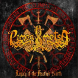 Legacy of the Heathen North Lyrics Pimeä Metsä