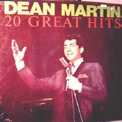 20 Greatest Hits Lyrics Martin Dean