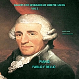 Dances for piano of Joseph Haydn Vol 2 Lyrics Pablo F Bello