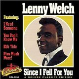 Miscellaneous Lyrics Lenny Welch