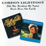 Back Here On Earth Lyrics Lightfoot Gordon