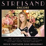 Encore: Movie Partners Sing Broadway Lyrics Barbra Streisand