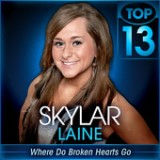 American Idol: Top 13 – Whitney Houston & Stevie Wonder Lyrics Skylar Laine