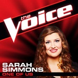 One of Us (The Voice Performance) (Single) Lyrics Sarah Simmons