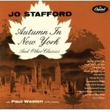 Autumn In New York And Other Classics Lyrics Jo Stafford