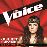Stay With Me (The Voice Performance) (Single) Lyrics Juliet Simms