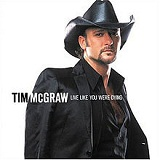 Live Like You Were Dying Lyrics Tim McGraw