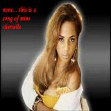 none... this is a song of mine Lyrics Cherrelle