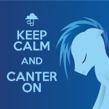 Keep Calm and Canter On Lyrics Replacer