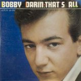 That's All Lyrics Bobby Darin