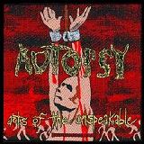 Acts Of The Unspeakable Lyrics Autopsy